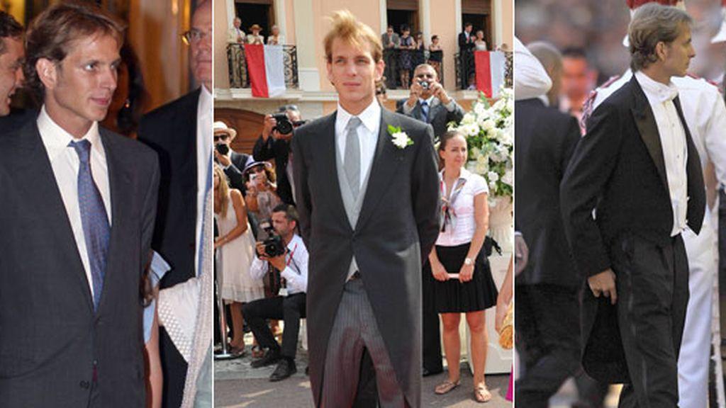 Los looks de los protagonistas de la boda