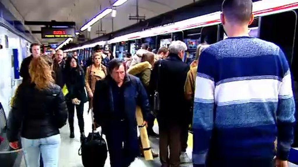 Así dan caza a los carteristas del metro