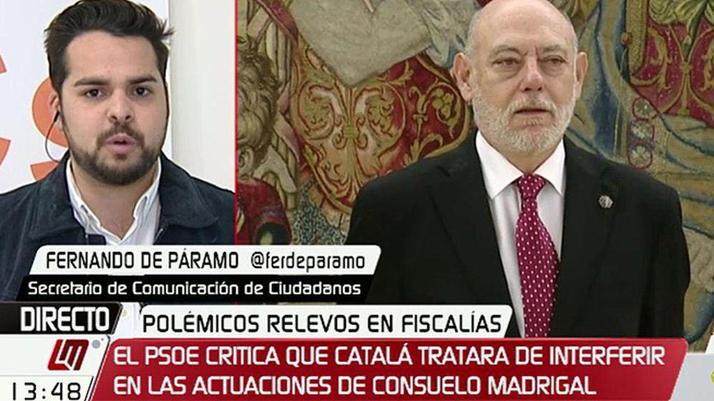 """Fernando de Páramo, sobre PP y PSOE: """"Se creen que los sillones son rojos y azules y pueden ponerlos a dedo"""""""