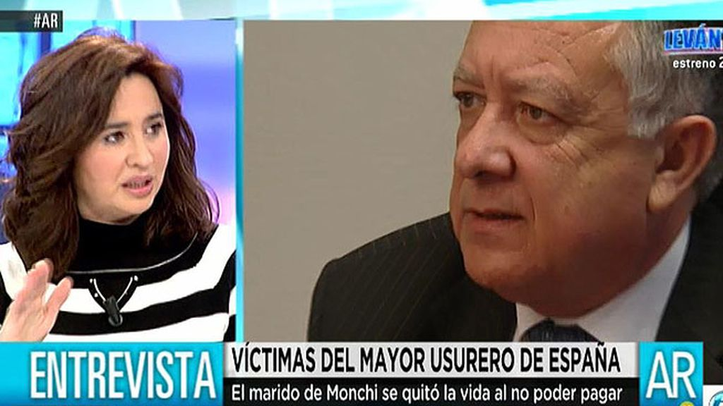 """Monchi: """"A mi marido le dijeron que Antonio Arroyo y Caja Duero nos daban el crédito"""""""