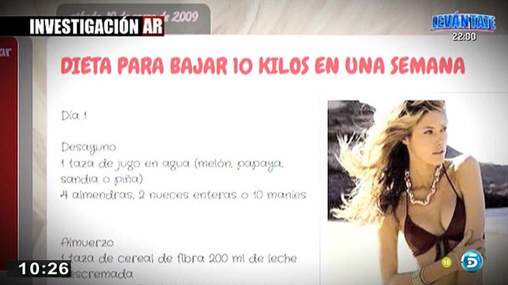'AR' contacta con jóvenes que ayudan a otras anoréxicas a través de la red