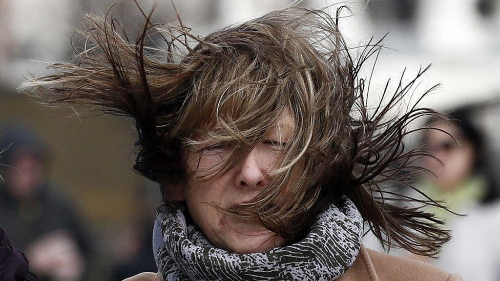 Fuertes vientos en Londres