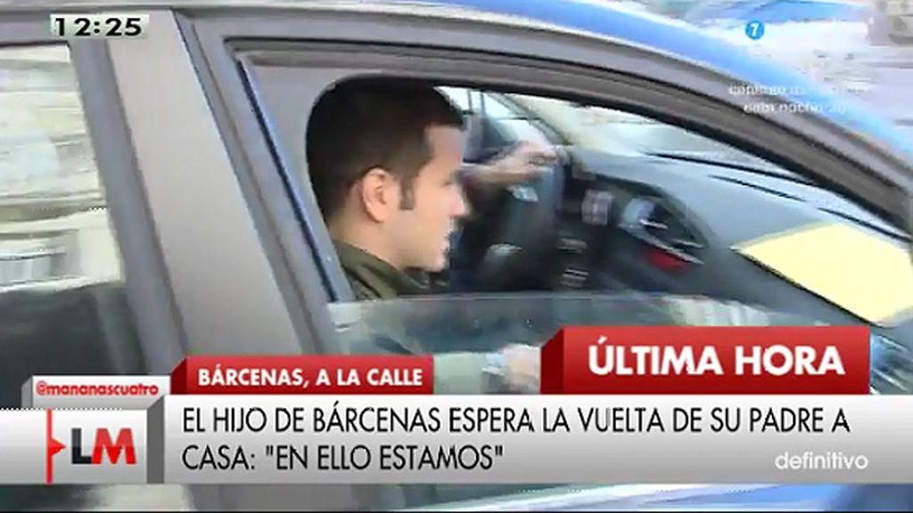 """Guillermo Bárcenas: """"Dar las gracias a la familia y a los amigos, esto ya se acaba"""""""
