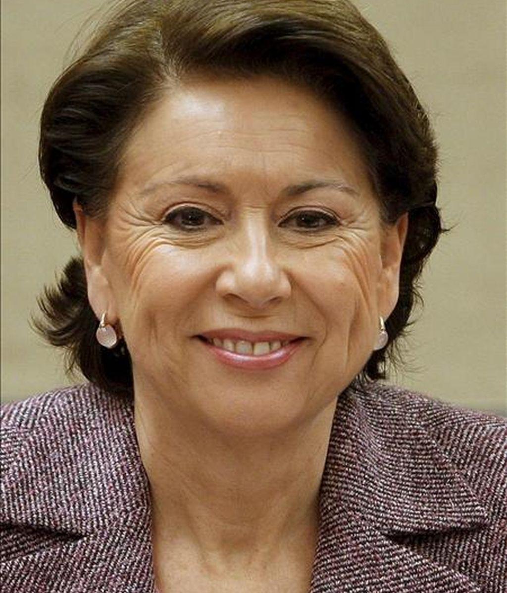 La ex ministra de Fomento Magdalena Álvarez, quien irá en el tercer puesto del PSOE a las próximas elecciones europeas. EFE/Archivo
