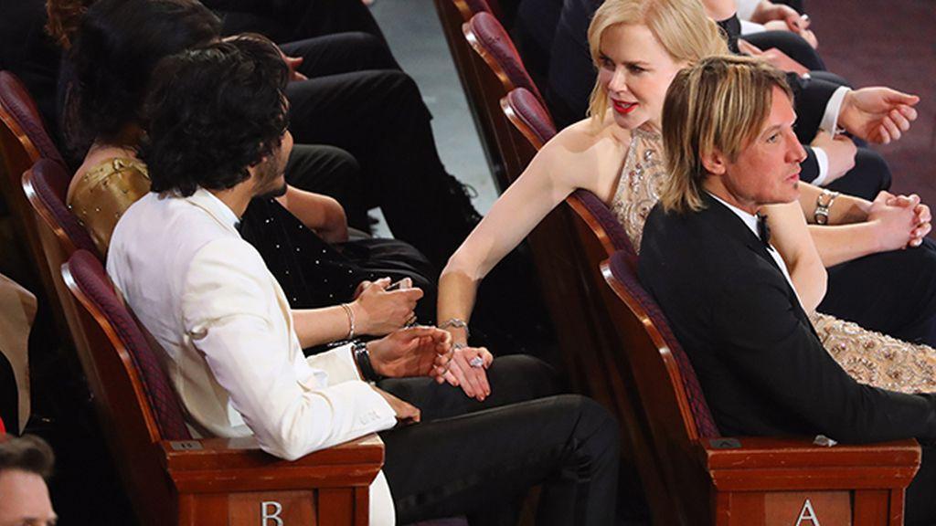 Dev Patel, junto a Nicole Kidman y Keith Urban