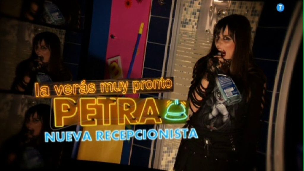 Petra, la recepcionista satánica