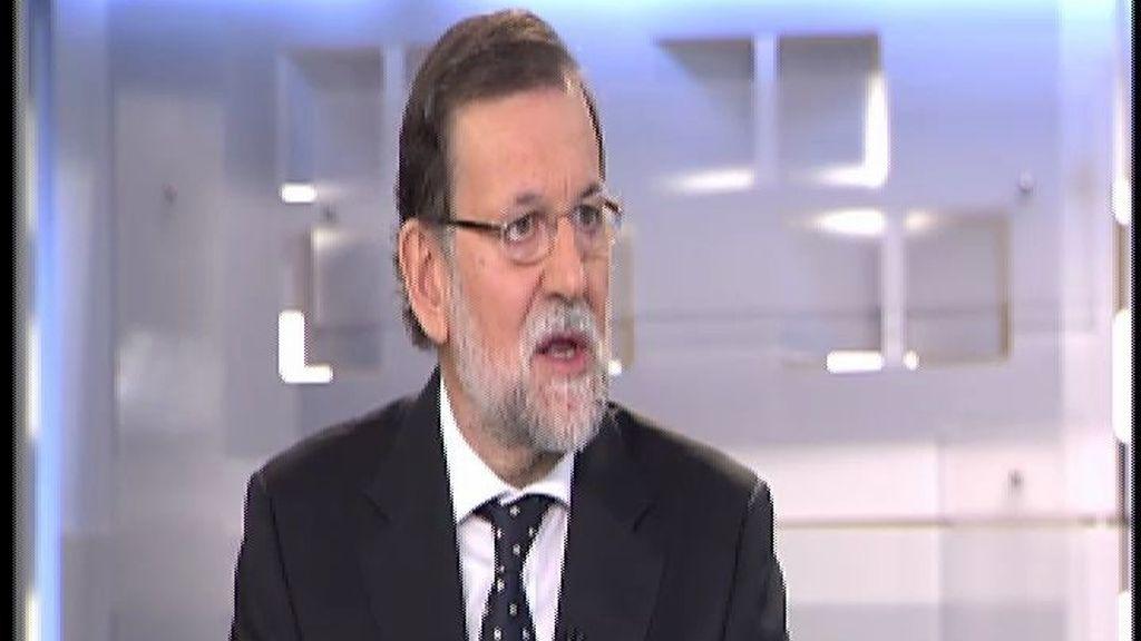"""Rajoy: """"Creo que en Andalucía se podía gobernar y el adelanto no tiene sentido"""""""