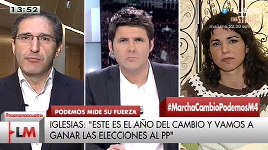 """Cepeda: """"Iglesias tiene mucha marcha pero le faltan ideas para resolver problemas"""""""