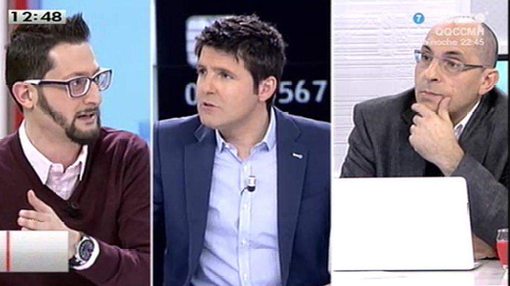 """Elpidio José Silva: """"Se ha visto cómo la corrupción atentaba contra el sistema y Gallardón no se movía nada"""""""