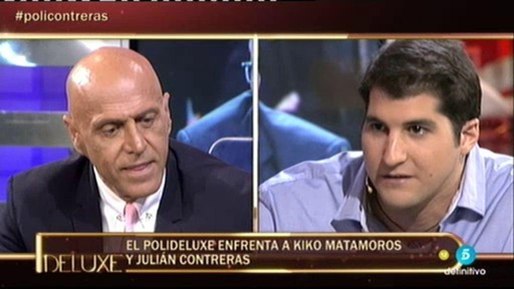 """Julián Contreras Jr. se enfrenta a Kiko Matamoros: """"Yo pensé que éramos amigos"""""""