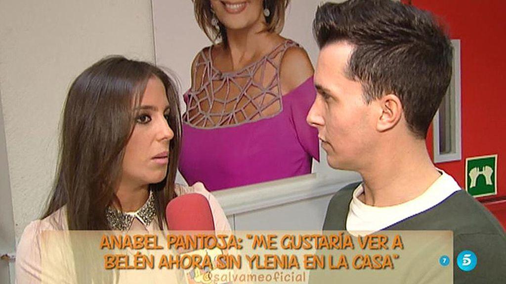 """Anabel Pantoja: """"Me gustaría ver a Belén fuera a no ser que sin Ylenia cambie la cosa"""""""