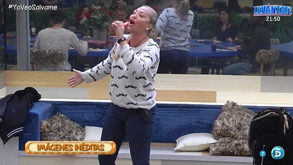La faceta de Belén como cantante