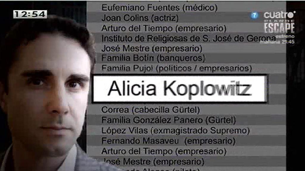 Alicia Koplowitz también aparece en la lista Falciani, según 'El Confidencial'