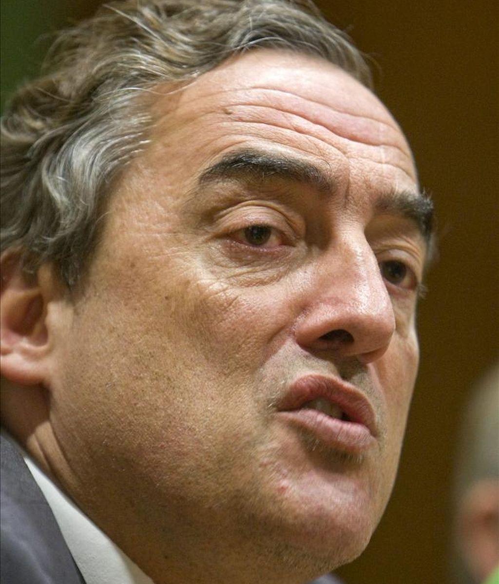El presidente de la Confederación Española de Organizaciones Empresariales (CEOE), Juan Rosell. EFE/Archivo