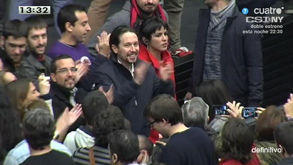 """""""T. Rodríguez y P. Iglesias han cantado, pataleado, gritado… feliz cumpleaños"""""""