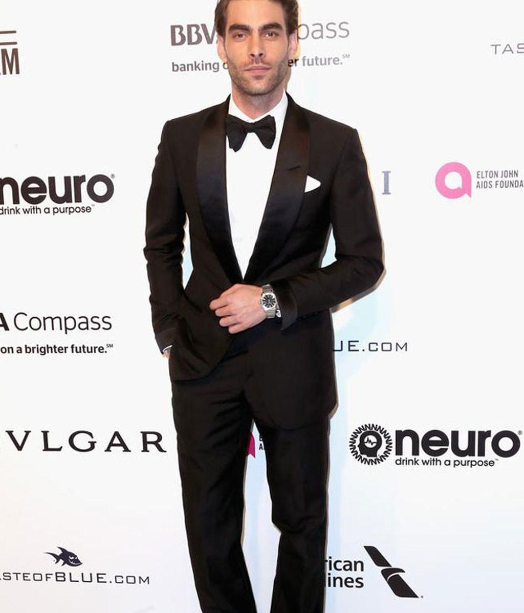 Jon Kortajarena, una de las caras españolas del evento, eligió esmoquin y pajarita