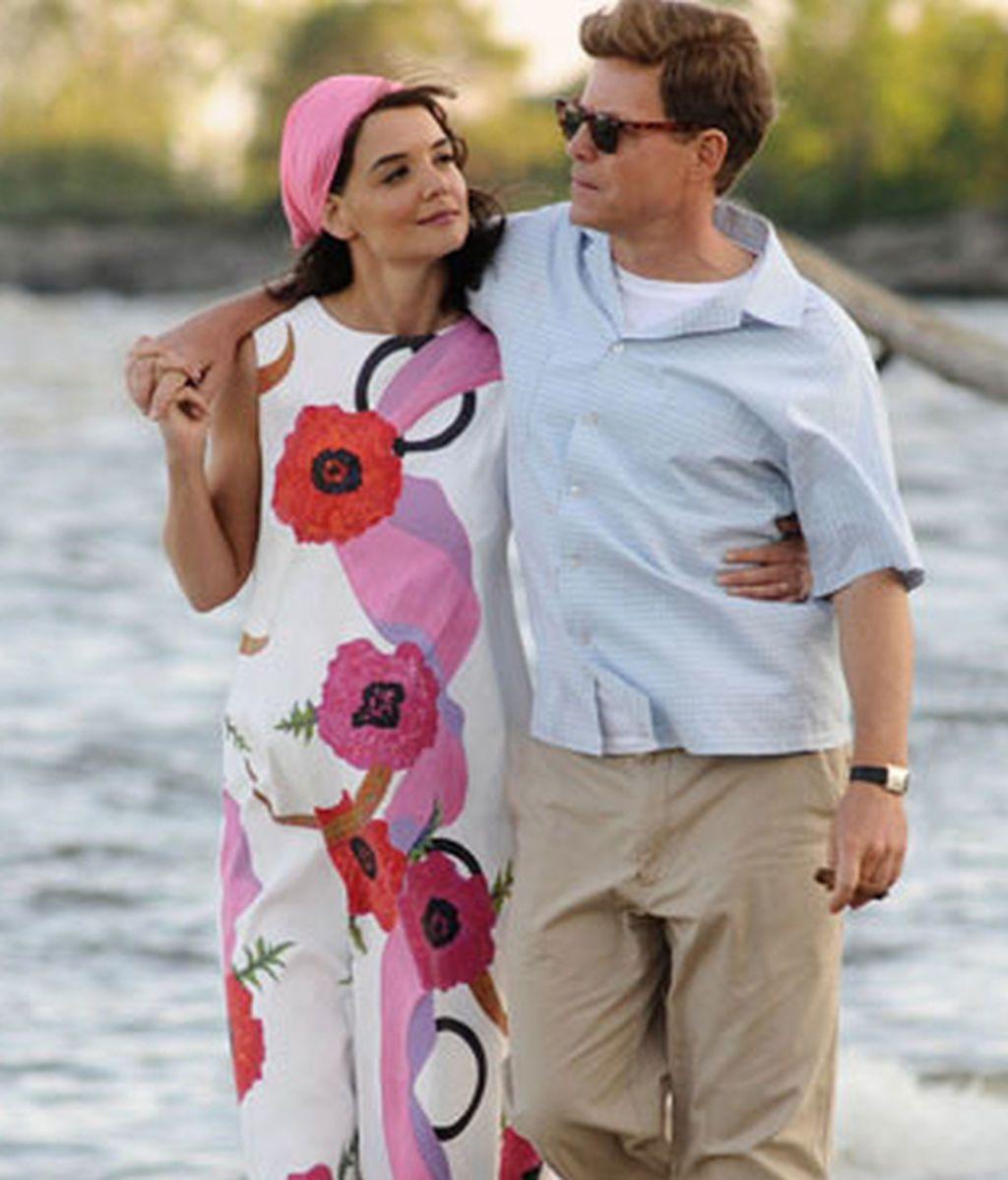 Kennedy y su esposa