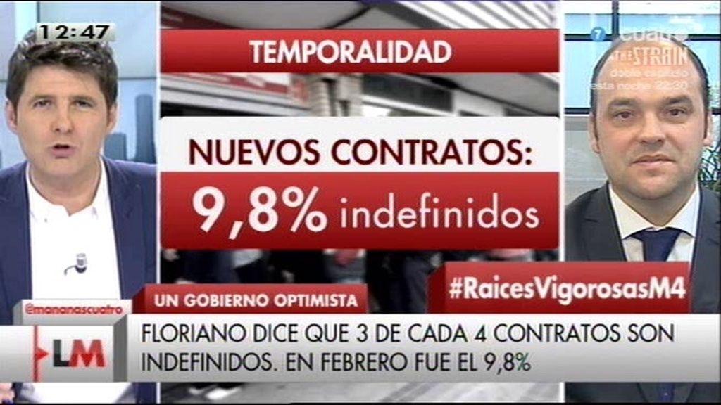 """José Carlos Díez, sobre el dato del paro: """"El PP está haciendo un país 'lowcost"""""""