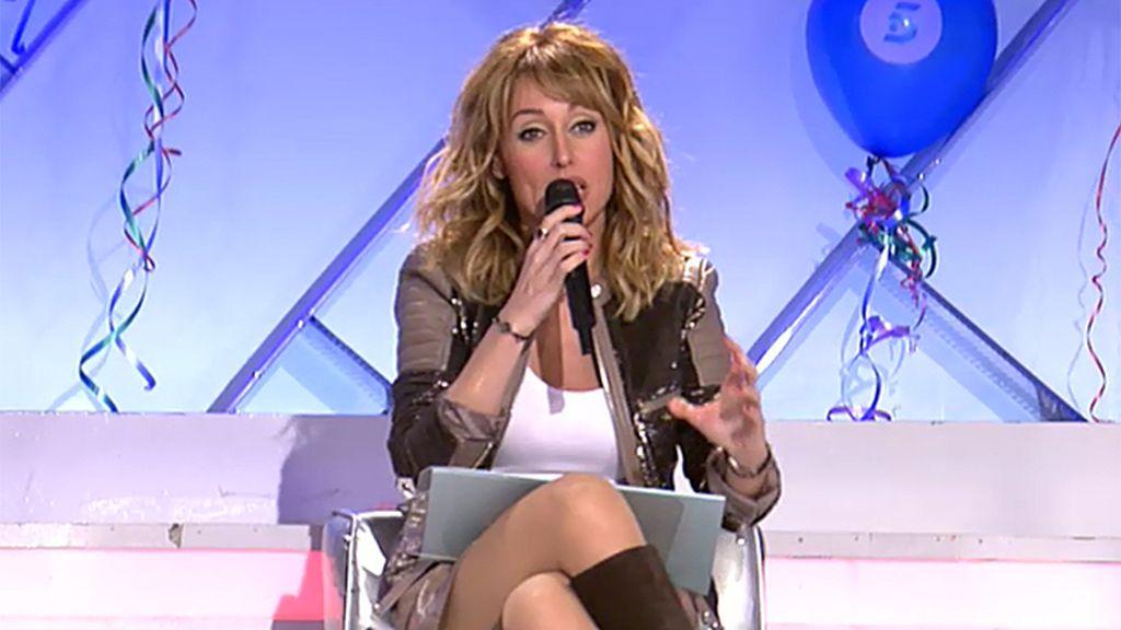 Emma celebra los 25 años de Telecinco