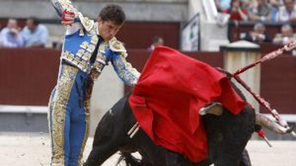 Daniel Luque, en su última tarde en Madrid. Foto: EFE