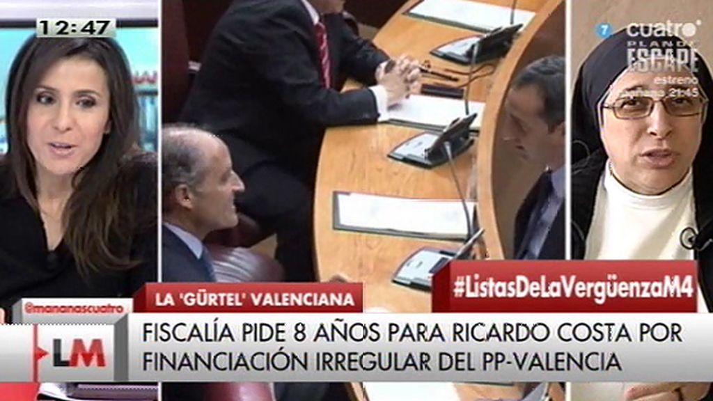"""Sor Lucía Caram: """"Con la cúpula que hay, en este momento el PP es irrecuperable"""""""