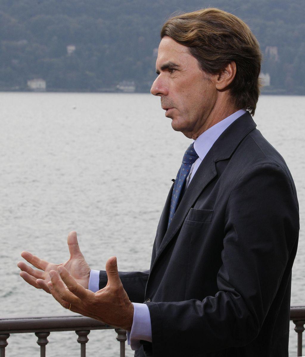 Aznar califica a los indignados como movimiento marginal