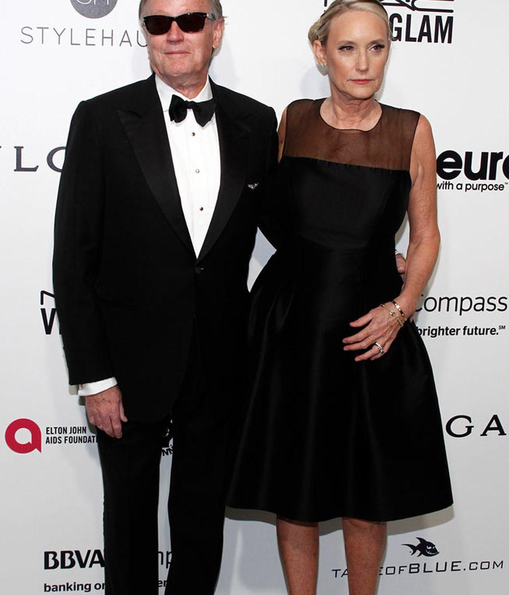 Peter Fonda tampoco faltó a la gran fiesta post Oscar