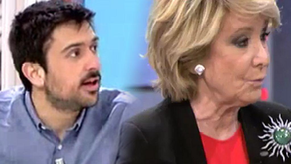"""Ramón Espinar, de Aguirre: """"Lo que ha dicho es una infamia"""""""
