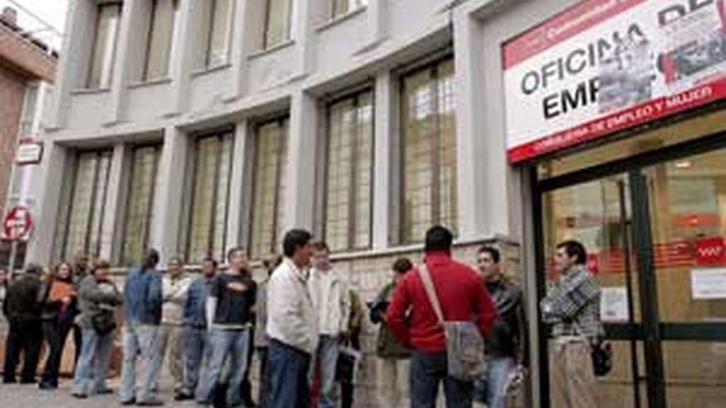 El índice de desempleo se deterioró 0,8 puntos en abril con respecto al mes anterior. FOTO: EFE