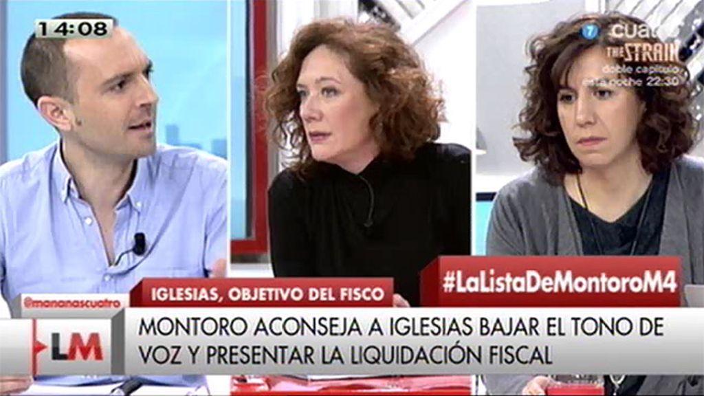 """Luis Alegre, de Montoro: """"Sorprende el tono casi de gánster"""""""