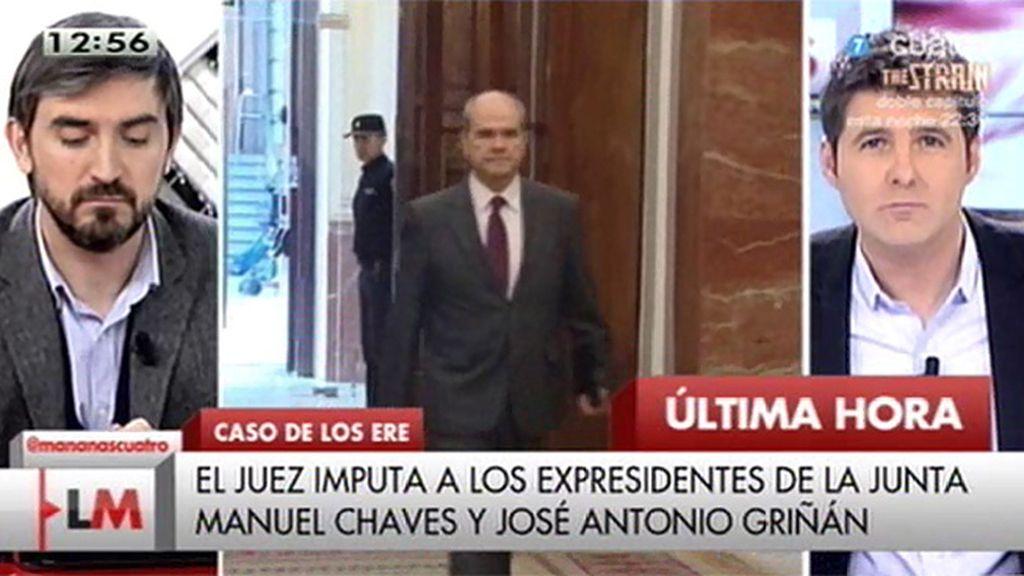 Chaves y Griñán, citados a declarar como imputados en el caso de los ERE