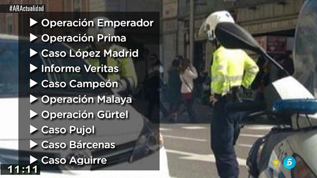 Los casos del comisario Villarejo