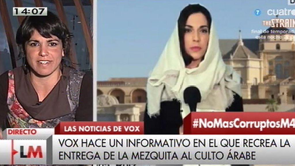 """T. Rodríguez, de VOX: """"Resulta difícil responder a este tipo de críticas más allá de la carcajada abierta"""""""