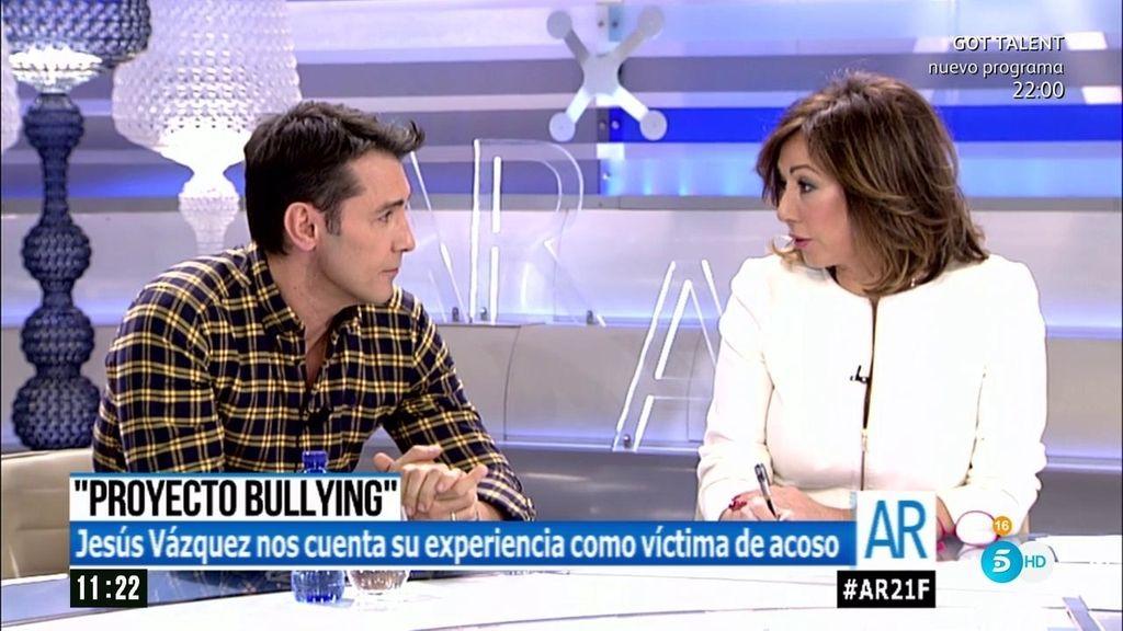 """Jesús Vázquez: """"Los colegios no quieren ver que sus alumnos sufren bullying"""""""