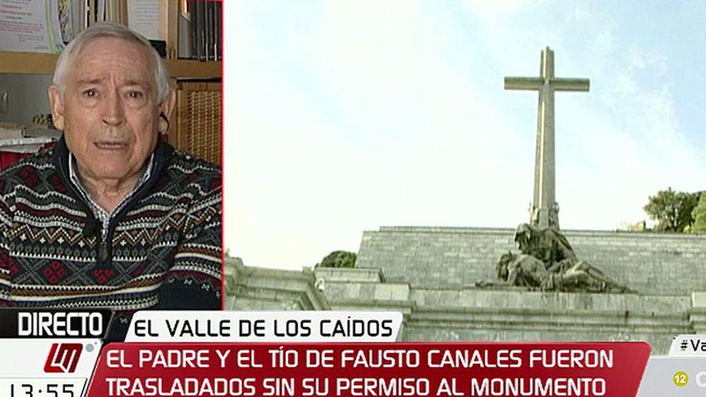 """Fausto Canales: """"El trauma psíquico que yo tengo es dolorosísimo"""""""