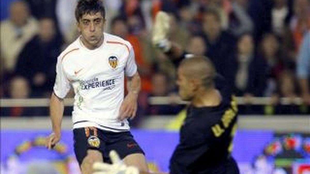 Pablo Hernández, la última incorporación a la selección española. Foto: EFE