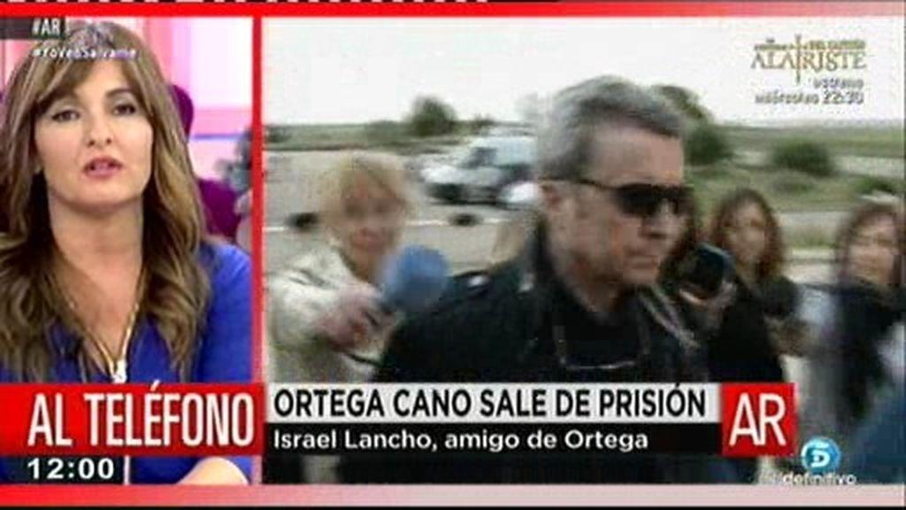 """Israel Lancho, amigo de Ortega Cano: """"Es un ejemplo a seguir en muchas cosas"""""""