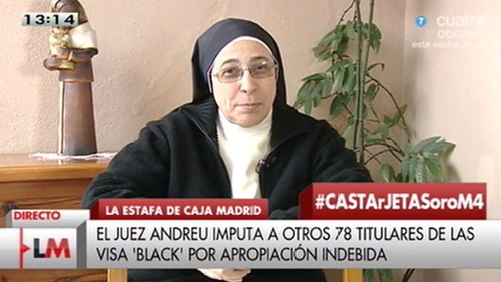"""Sor Lucía: """"He esperado a ver si Rajoy venía a darme las gracias, pero no ha venido"""""""