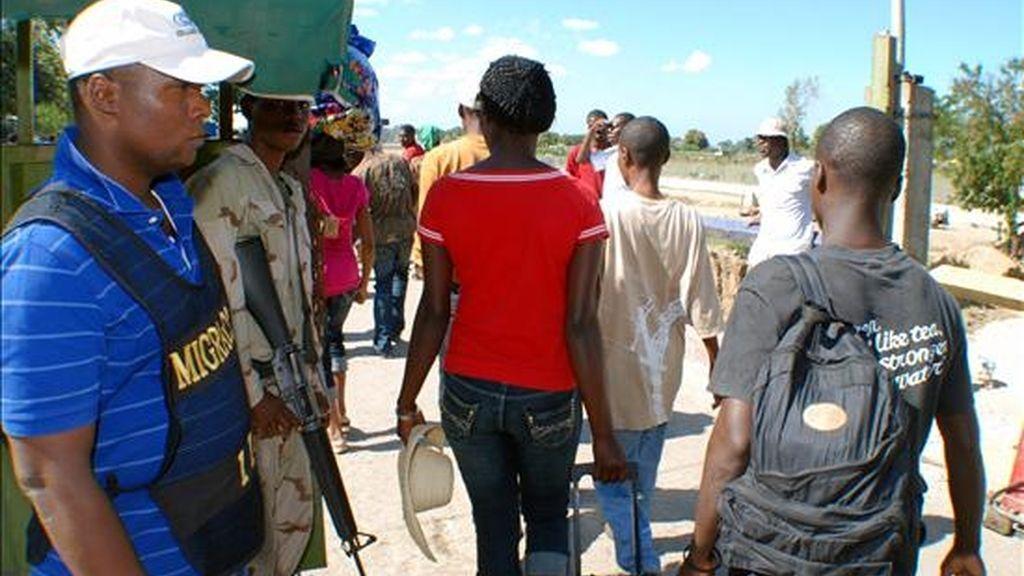 El trato que reciben los haitianos en República Dominicana y la actitud del Gobierno del país ante esta situación han sido objeto de numerosas críticas de diferentes organizaciones. EFE/Archivo