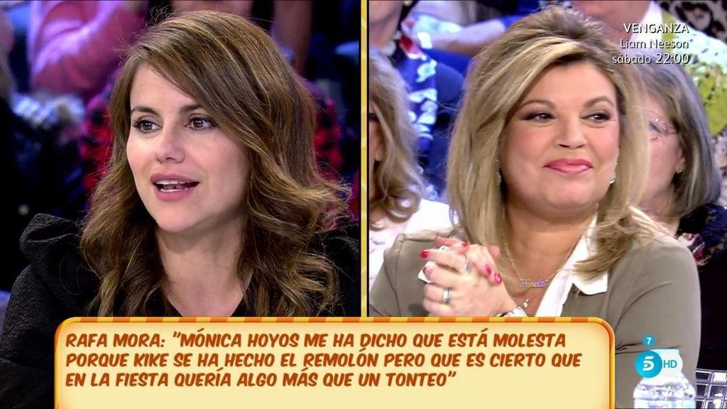 """Mónica Hoyos: """"Me iría a cenar con Kike"""""""