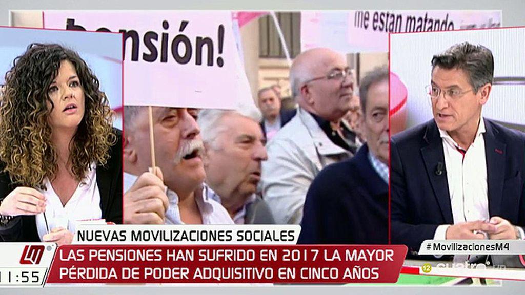 """Sofía Castañón (Podemos): """"No hay una brecha salarial, hay un abismo"""""""