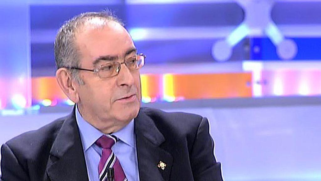 """S. Castro, expolicía, sobre el comisario Villarejo: """"No hay una guerra abierta"""""""