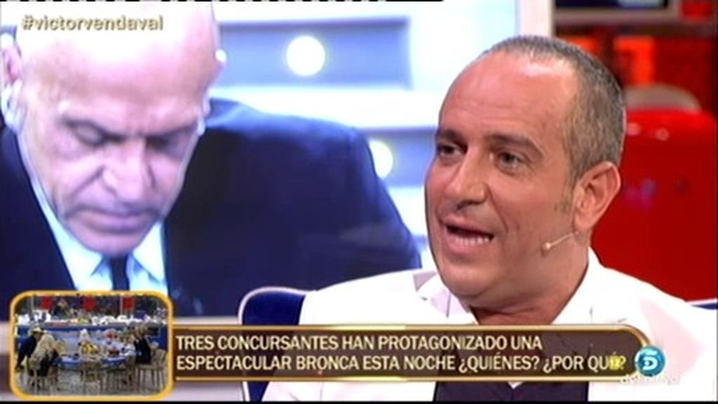 "Víctor: ""Asumo que no nos ha beneficiado pertenecer al grupo de Belén Esteban"""
