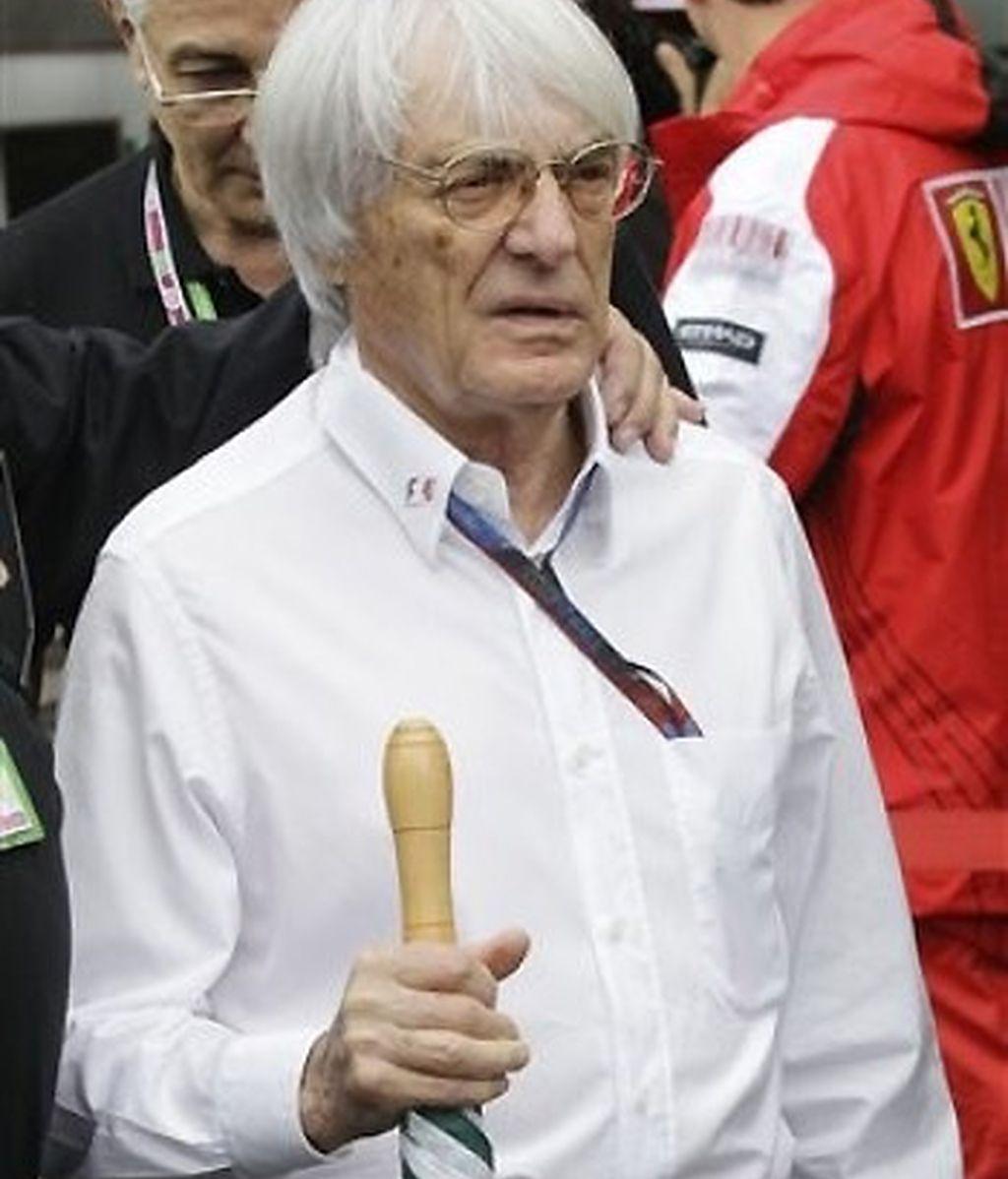Bernie Ecclestone. FOTO: Archivo.