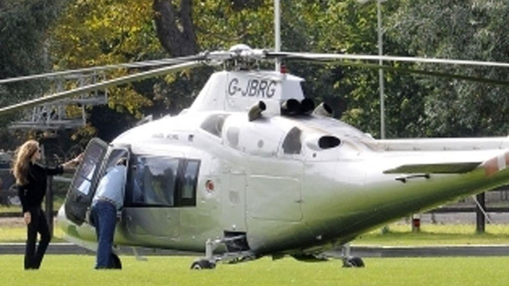 No sin mi helicóptero