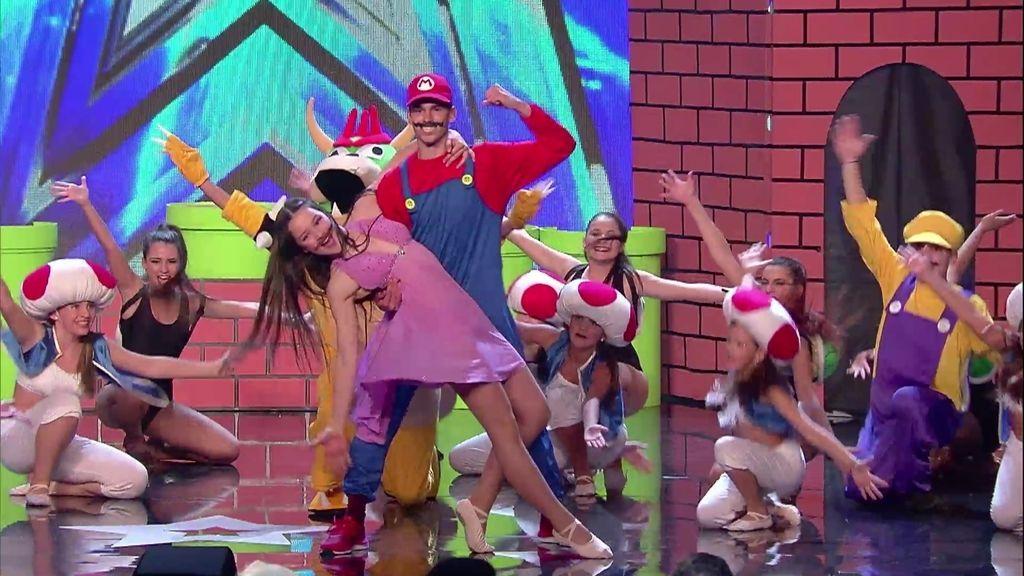 'Danclass club' y su baile inspirado en Mario Bross