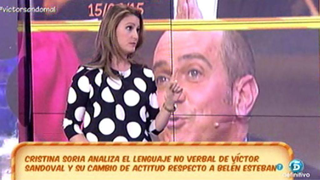 """C. Soria: """"Víctor está utilizando su relación con Belén porque sabe que le da juego"""""""