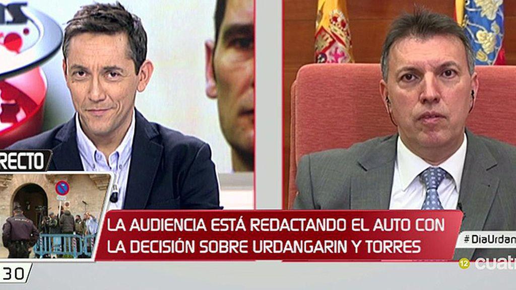 """Joaquim Bosch: """"No me parece razonable que el ministro de Justicia esté insinuando lo que tiene que hacer la justicia"""""""