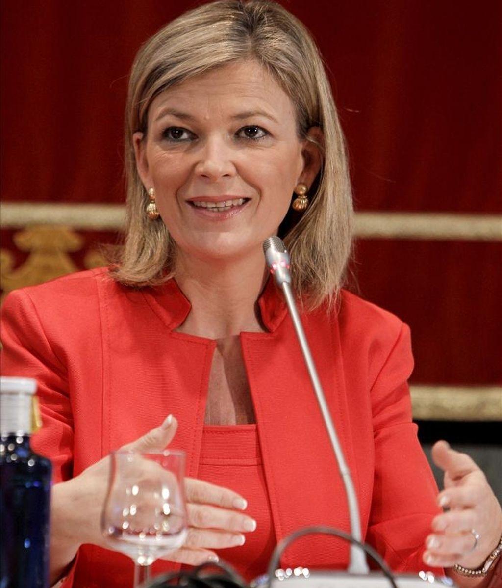 La portavoz del Consejo General del Poder Judicial, Gabriela Bravo. EFE/Archivo