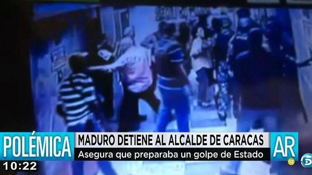 Nicolás Maduro ordena la detención del alcalde de Caracas